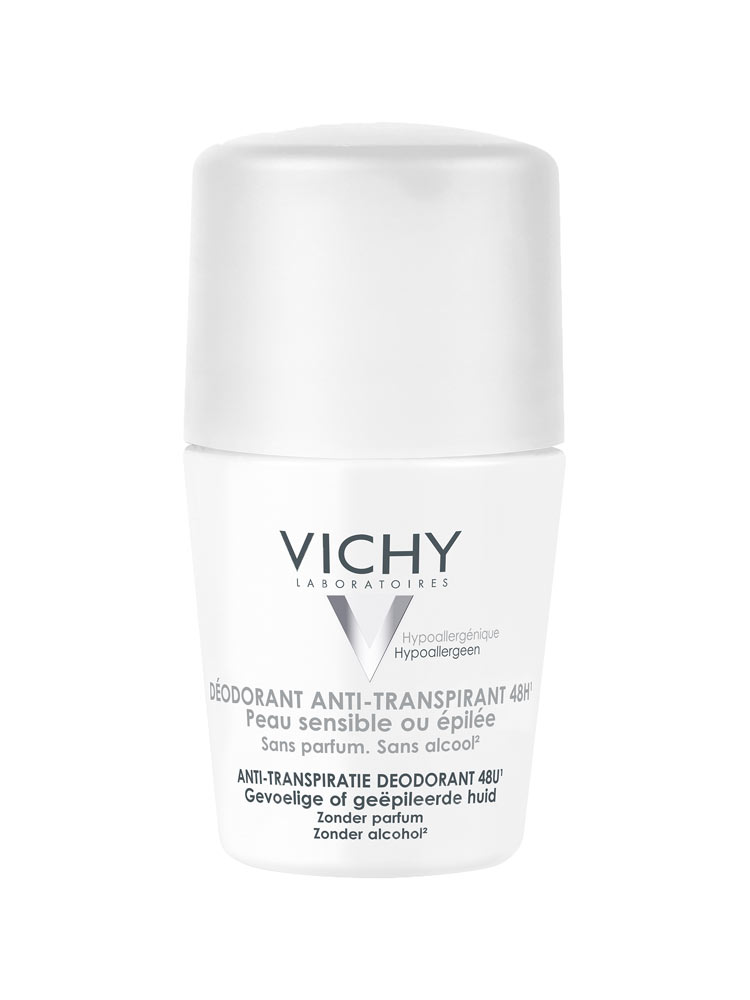 fccb2457b مزيل العرق من فيتشي للبشرة الحساسة حماية تدوم 48 ساعة 50 مل Vichy فيشي