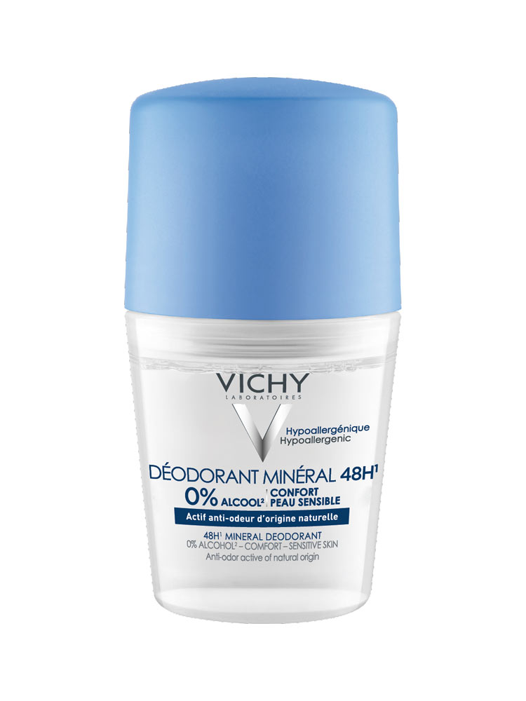15b18c521 مزيل العرق رول من فيتشي لجميع أنواع البشرة حماية تدوم 48 ساعة 50 مل Vichy /
