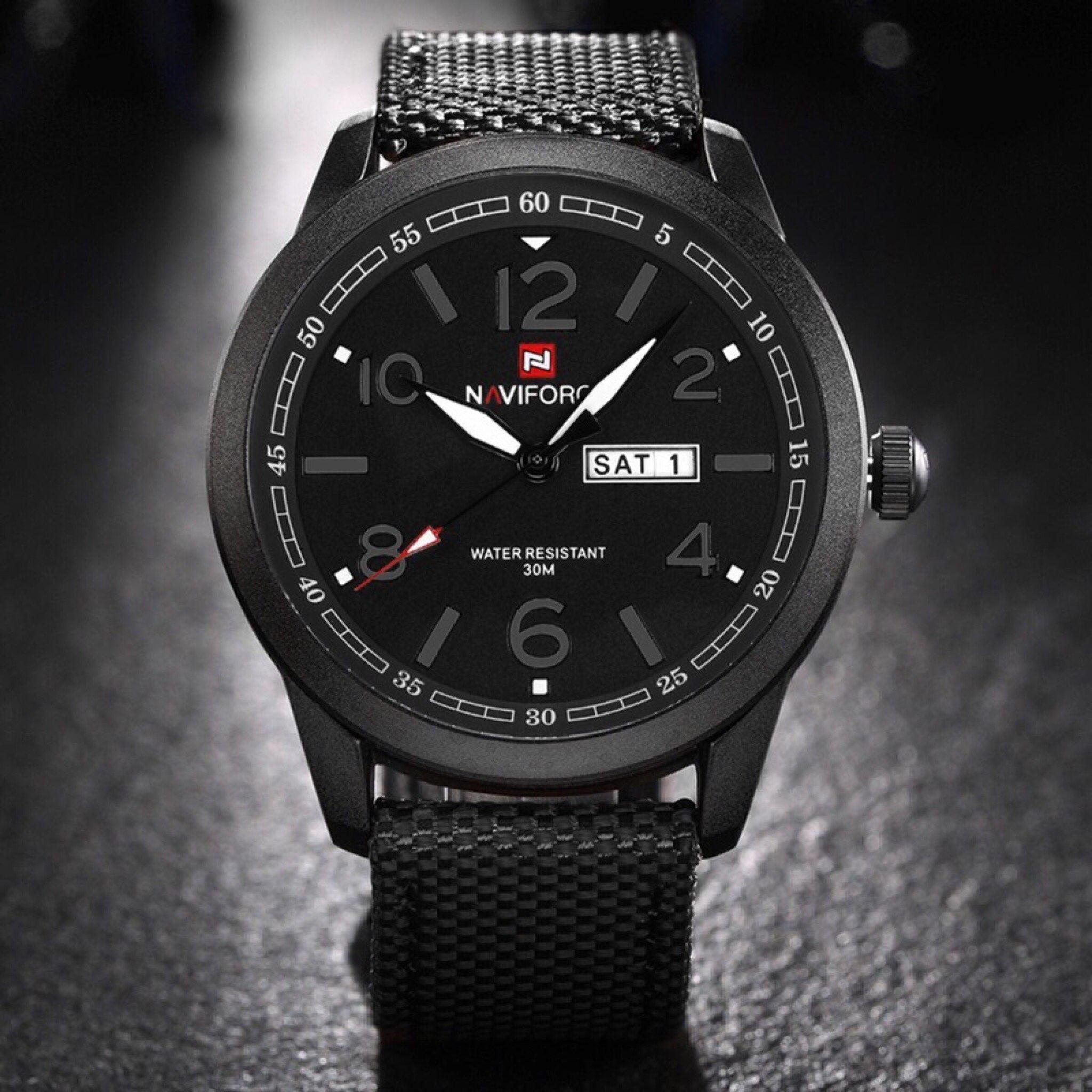4dd0032ba ساعة رجالية s10 ماركة NAVIFORCE | M7store
