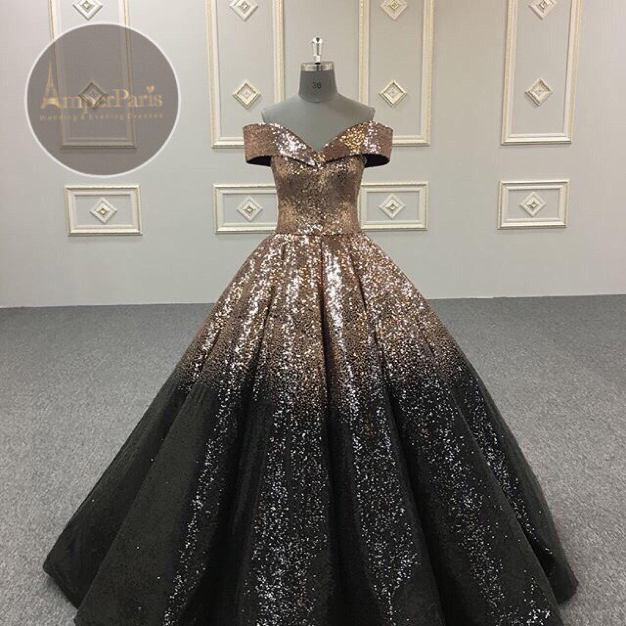 850bf2021 فستان سهره فخم جدا مطرز   امبرباريس للازياء