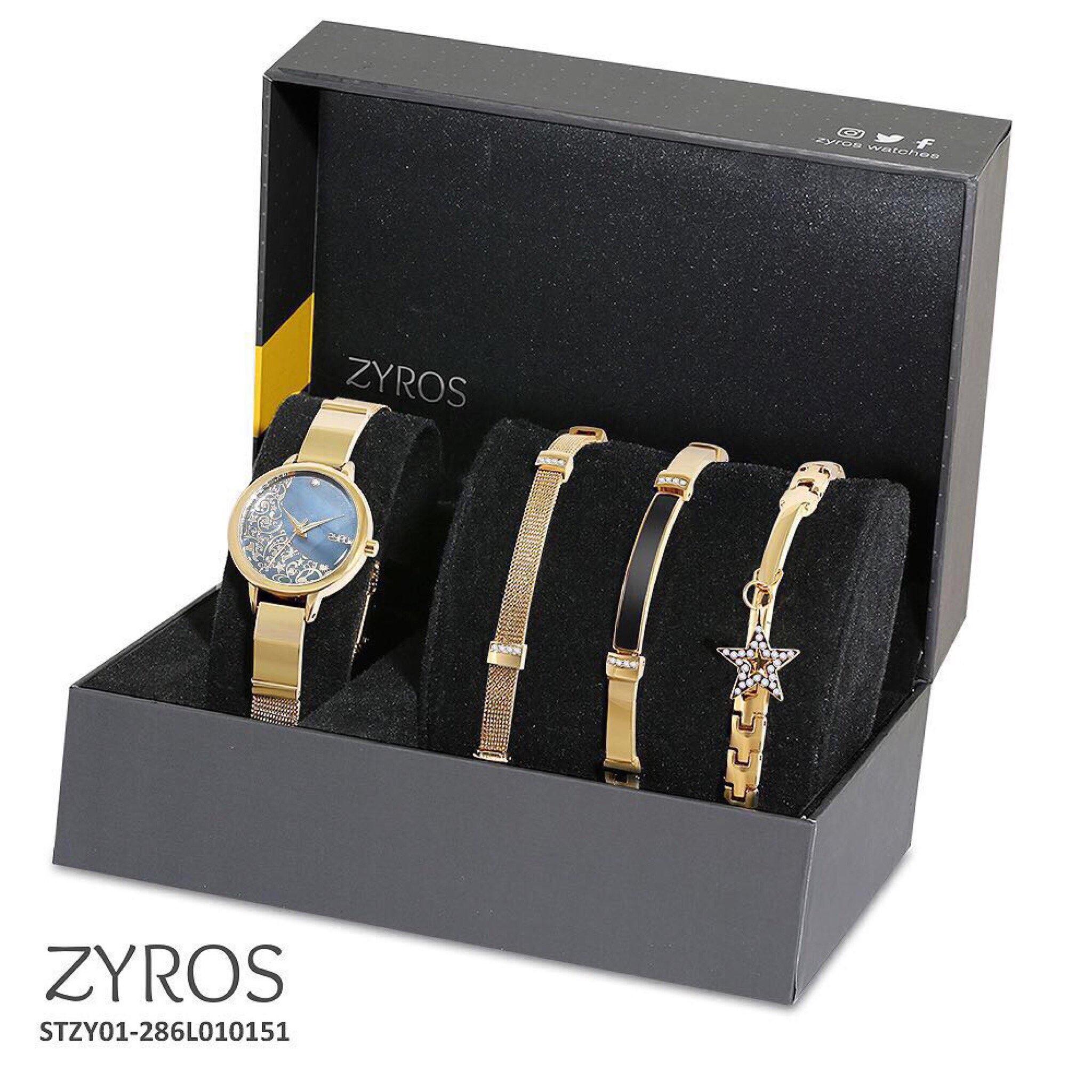 7f14825ed طقم ساعة و3 اساور ماركة زايروس مضمونة واصلية 💯 | loleettaah